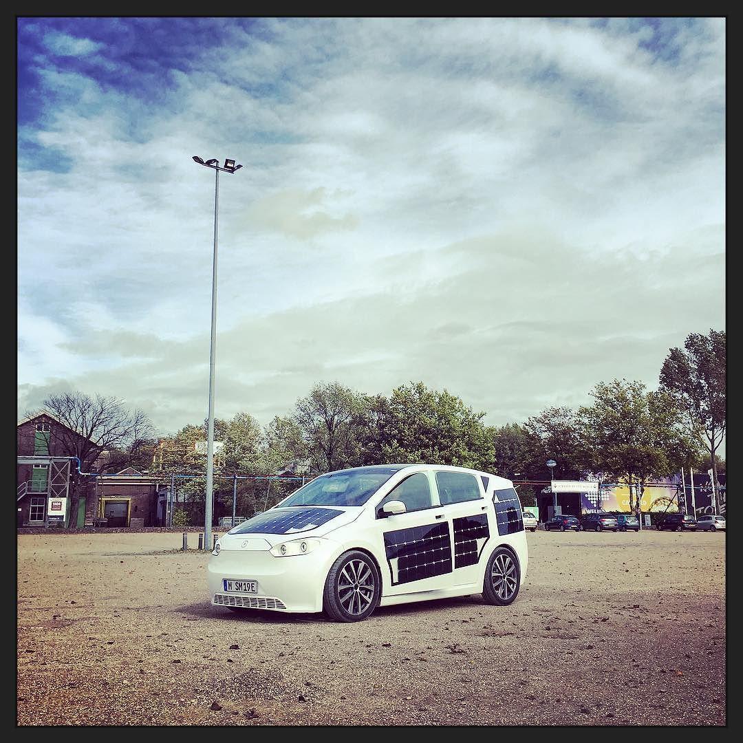 prototype testrit de Sion elektrische auto - SVVK.nl