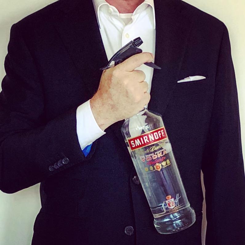 houd je kleren fris; geef ze wodka! - SVVK.nl